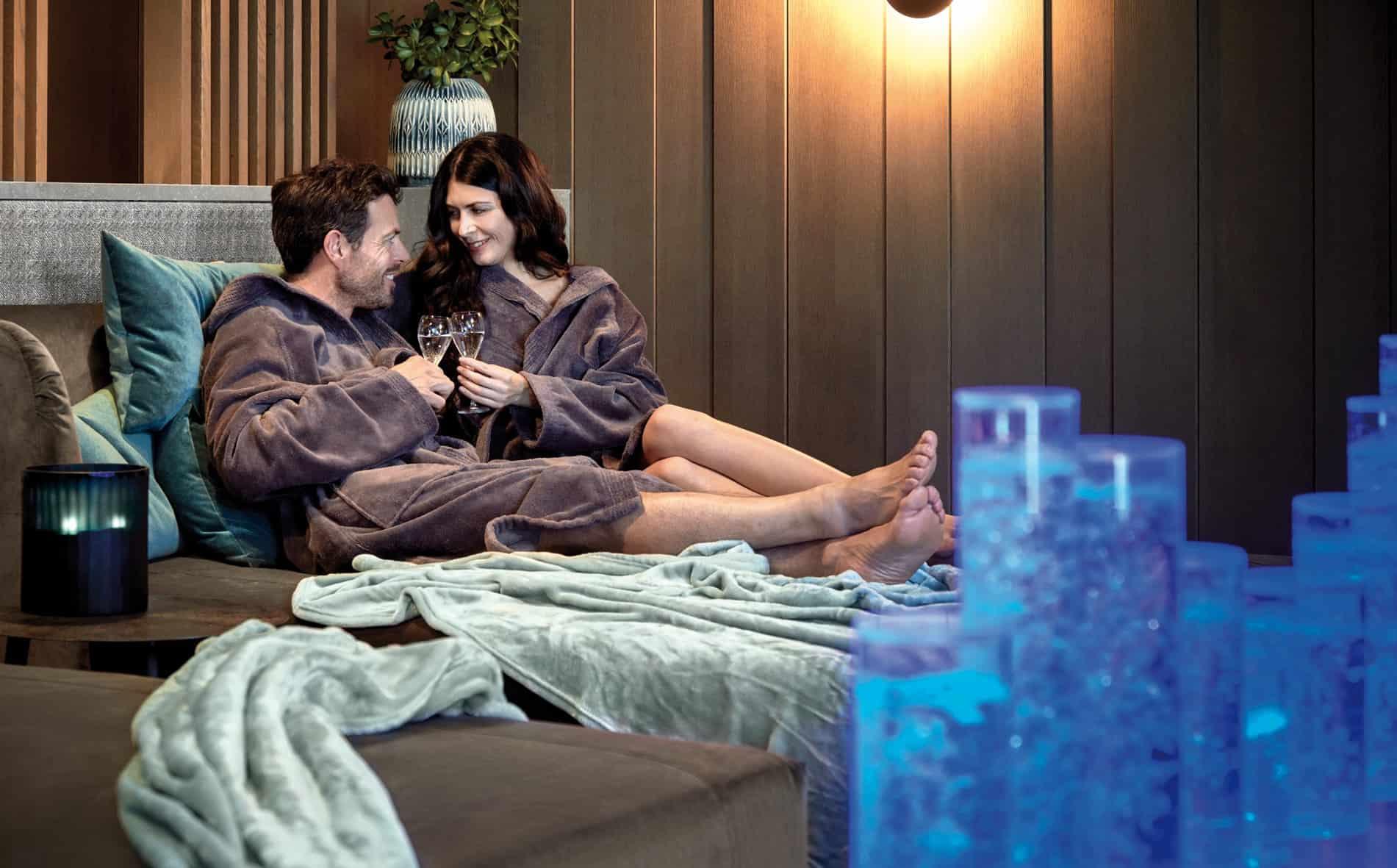 Quellenhof Luxury Resort Lazise - Relax und gemeinsame Zeit in der Private Spa Suite