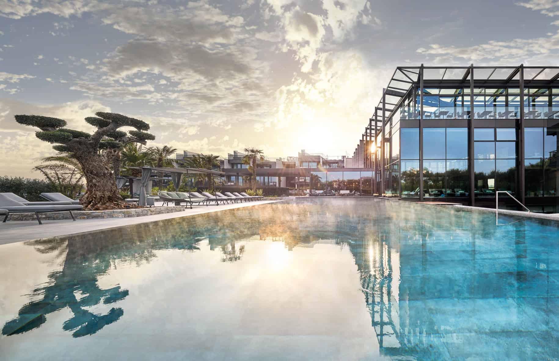 Quellenhof Luxury Resort Lazise - Moderne Architektur und exklusives Design